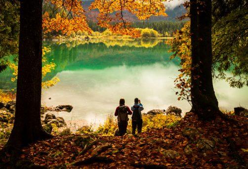 Walking im Herbst
